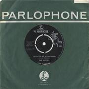 "The Beatles I Want To Hold Your Hand - Decca UK 7"" vinyl"