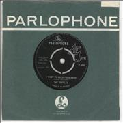 """The Beatles I Want To Hold Your Hand - Decca - VG UK 7"""" vinyl"""