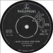 """The Beatles I Want To Hold Your Hand Africa 7"""" vinyl"""