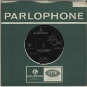 """The Beatles If I Fell - Sold In U.K. UK 7"""" vinyl"""
