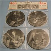 """The Beatles Interview Picture Disc Collection UK 7"""" picture disc"""