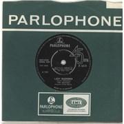 "The Beatles Lady Madonna + Fan Club Insert UK 7"" vinyl"