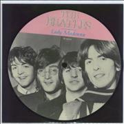 "The Beatles Lady Madonna UK 7"" picture disc"