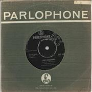 """The Beatles Lady Madonna South Africa 7"""" vinyl"""