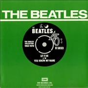 "The Beatles Let It Be - 1976 UK 7"" vinyl"