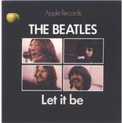 """The Beatles Let It Be - 1st - 4pr - P/S UK 7"""" vinyl"""
