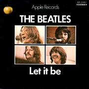 Click here for more info about 'Let It Be - 1st - Red'