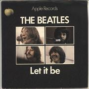"The Beatles Let It Be - 1st - Solid - P/S - EX UK 7"" vinyl"