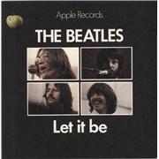 "The Beatles Let It Be - 1st - Solid - P/S - WOL UK 7"" vinyl"