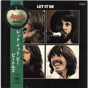 The Beatles Let It Be - Red Vinyl + 1 Obi Japan vinyl LP