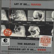 The Beatles Let It Be... Naked - Sealed Taiwan 2-CD album set