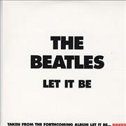 The Beatles Let It Be UK CD single Promo