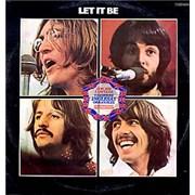 The Beatles Let It Be Mexico vinyl LP