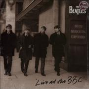 The Beatles Live At The BBC - Price Stickered & Sealed UK 2-LP vinyl set