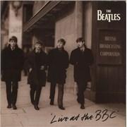 The Beatles Live At The BBC - VG UK 2-LP vinyl set