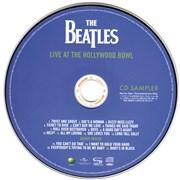 The Beatles Live At The Hollywood Bowl - CD Sampler Japan SHM CD Promo
