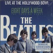 The Beatles Live At The Hollywood Bowl UK CD album