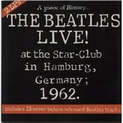 The Beatles Live! At The Star-Club In Hamburg, Germany 1962 - Ex UK 2-LP vinyl set