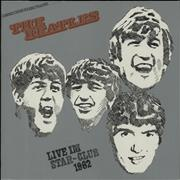 The Beatles Live Im Star-Club 1962 Germany vinyl LP