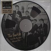 The Beatles Live On Air 1963 Volume One UK picture disc LP