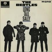 "The Beatles Long Tall Sally EP - 3rd - Solid UK 7"" vinyl"