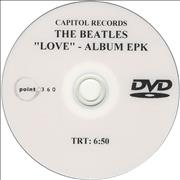 Click here for more info about 'The Beatles - 'Love' - Album EPK'