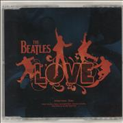 The Beatles Love - Interview CD UK CD album Promo