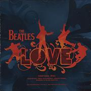 The Beatles Love Interview CD USA CD album Promo