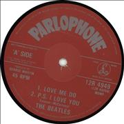 "The Beatles Love Me Do UK 12"" vinyl"