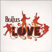 The Beatles Love Sampler UK CD single Promo