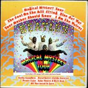 The Beatles Magical Mystery Tour - Lime Green Label USA vinyl LP