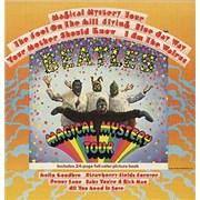 The Beatles Magical Mystery Tour - Peach Label USA vinyl LP