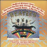 The Beatles Magical Mystery Tour - Peach Label - EX USA vinyl LP