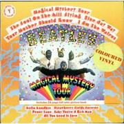 The Beatles Magical Mystery Tour - Yellow Vinyl UK vinyl LP