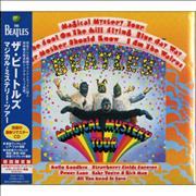 The Beatles Magical Mystery Tour Japan CD album
