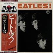 The Beatles Meet The Beatles + Obi Japan vinyl LP
