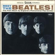 The Beatles Meet The Beatles - 2nd - VG USA vinyl LP