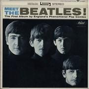 The Beatles Meet The Beatles! - Green Label Canada vinyl LP