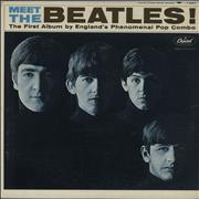 The Beatles Meet The Beatles - VG USA vinyl LP