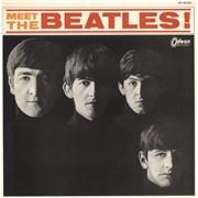 The Beatles Meet The Beatles (Japanese Version) - Red Vinyl Japan vinyl LP