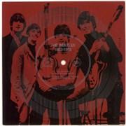 "The Beatles Musicland Flexidisc - Red USA 7"" vinyl Promo"