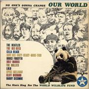 The Beatles No One's Gonna Change Our World - EX UK vinyl LP