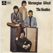"The Beatles Norwegian Wood Australia 7"" vinyl"