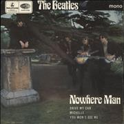 Click here for more info about 'The Beatles - Nowhere Man - 2nd - EX'