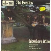 "The Beatles Nowhere Man - 2nd UK 7"" vinyl"
