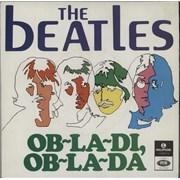 """The Beatles Ob-La-Di, Ob-La-Da Portugal 7"""" vinyl"""