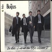The Beatles On Air - Live At The BBC Volume 2 UK 2-CD album set