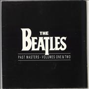 The Beatles Past Masters - Volumes One & Two - VG+ UK 2-LP vinyl set