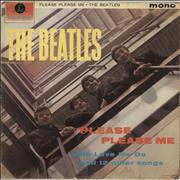 The Beatles Please Please Me - 1st - Fair/Good UK vinyl LP