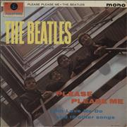 The Beatles Please Please Me - 1st - Good Denmark vinyl LP